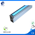 Luz lateral inground conduzida linear exterior do alojamento de alumínio
