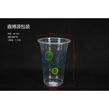 Printed Logo Plastic Cups for Cold Drink