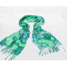 Fashion ladies viscose printed scarves