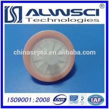 Filtro de seringa de 30mm Tamanho de poro hidrófilo PTFE 0.22um