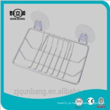 2015 novo suporte de sabão magnético para chuveiros, suporte de sabão suspenso, suporte de sabão seco, cremalheira de sabão