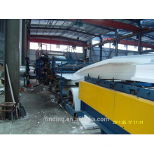 Heat preservation mineral wool sandwich panel making machine