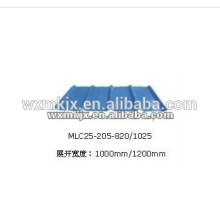 Produce YX25-205-820 / 1025 Farbige Stahlwand
