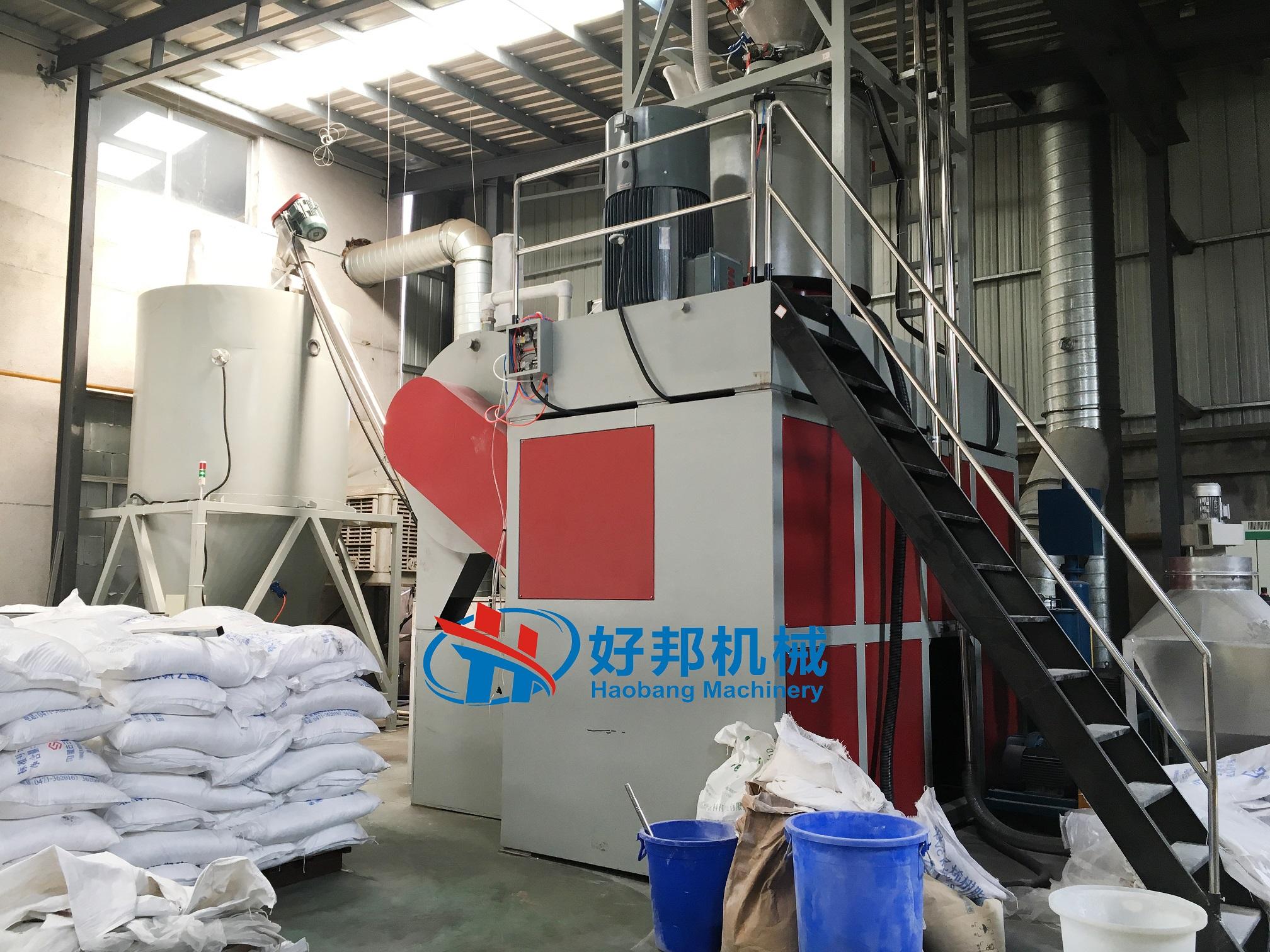 SPC floor mixer