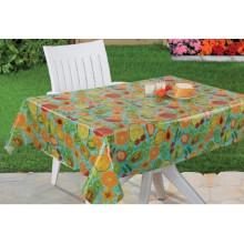 PVC Printed Transparent Tablecloth (TJC0214)