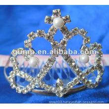 Crstal tiara comb (GWST12-117)