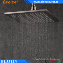 Ss304 Brushed Shower 12 Inch Filtered Rainfall Waterfall Shower Head