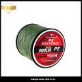 Meilleure qualité Super haute ténacité couleur tressé de fil de pêche