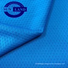 100% polyester jacquard knitted dry fit wicking fabric
