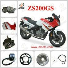 ZS200GS Motorcycle Spare Parts