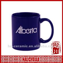 Пользовательский логотип кружка чашки керамики, керамические чашки кофе чашки