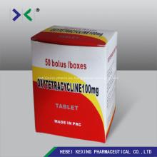 Comprimidos de Oxitetraciclina Pichón y Pájaro
