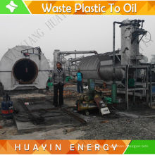MSW Sorting Production line with plastic waste to diesel oil Pyrolysis Plant