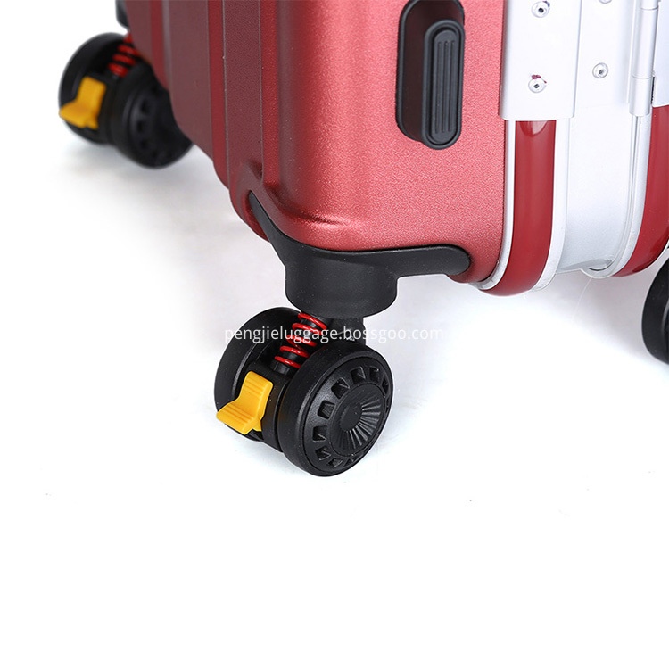 abs+pc aluminium alloy luggage