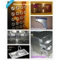 Máquina de corte do laser da fibra de 20mm para o metal 500w 750w 2000w 3000w para Steel304 inoxidável 401, aço de carbono, alumínio
