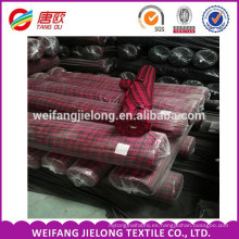 stock lot 100% algodón que cubre la tela de la franela Weifang, Shandong, almacena la tela teñida 100% del hilado de la franela del algodón en un precio barato