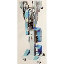 Máquina de costura automática com botão de pressão