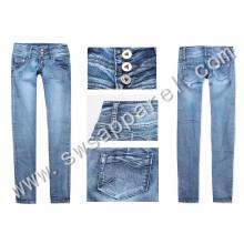 Women Leisure Skinny Stretch Denim Fashion Jeans Trousers