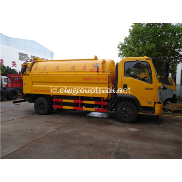 4x2 Suction Sewer Cleaning Sewage Tanker Truck