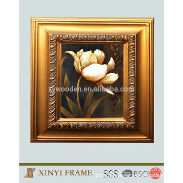 Custom printing wooden photo frame photo wall painting art