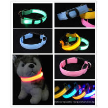 Pet collar making supplies high-end led dog harness