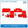 Sencai yangcheng Lake caranguejos peludos caixa de papel
