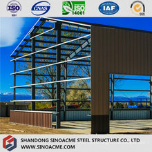 Prefabricated Steel Frame for Warehouse