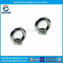China Fastener DIN582 Stock Stainless Steel Lifting Eye Nuts