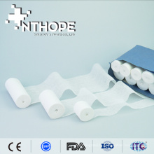 bandage chirurgical de gaze d'hôpital