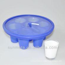 Braçadeira de vidro de tiro de sublimação para impressão de imprensa de calor