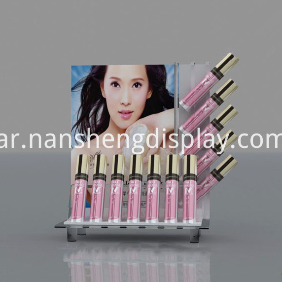 cosmetic metal display