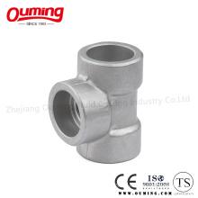 T de alta pressão com soquete 304/316