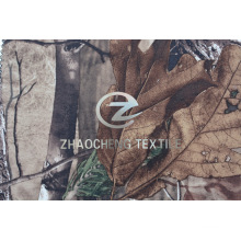 Tricot Knitted Loop Velvet Fabric with Forest Camouflage (ZCBP254)