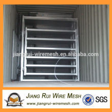 Hot-dipped galvanized 6 bar cattle panel gate