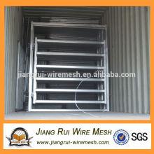 Galvanizado a quente galvanizado 6 bar portão painel de gado