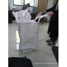 Bolsa de contenedores de caolinita de alta calidad FIBC