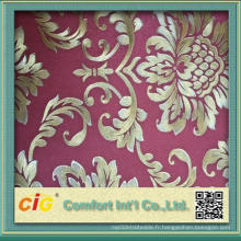 Design imprimé et gaufré Décoration murale en bois Papier peint PVC