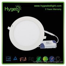 9w Diffused round led panel light 600mm ultra thin cob led panel light