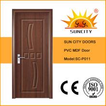 Diseño empotrado de puertas interiores de cocina
