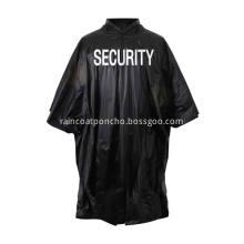 Wholesale Plastic Adult PVC Black Poncho