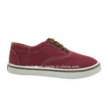 De Buena Calidad Zapato de lona clásico para caminar para niños (9985-S & B)