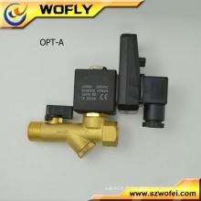 Electrovanne 24V / solénoïde du compresseur d'air / électrovanne de vidange automatique