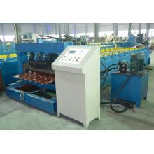 encargo de teja galvanizada rodillo azulejo del esmalte formando la máquina que hace la máquina teja vidriada