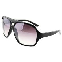 Fashion Round Einfache Elegante Sonnenbrille mit FDA-Zertifizierung -Memphis 1970 (91027)