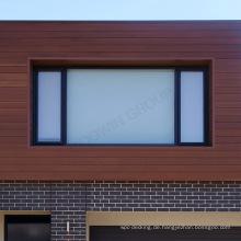 Handelsbüro-Gebrauch Holzplastikholz-Zusammengesetzte Wand-Abstellgleis / wpc, die Wand schiebt