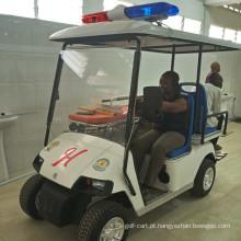 Carrinho de resgate / carrinho de golfe com cama