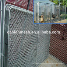 Galvanized welded wire mesh for outdoor dog fence& chain link fence for outdoor dog kennel