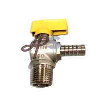 Male and Pex connection brass gas ball valve