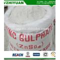 Heptahidrato de sulfato de zinc granular al 35% con alta pureza