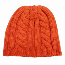 Lady Fashion Wool Acrylic Knitted Winter Warm Hat (YKY3104)